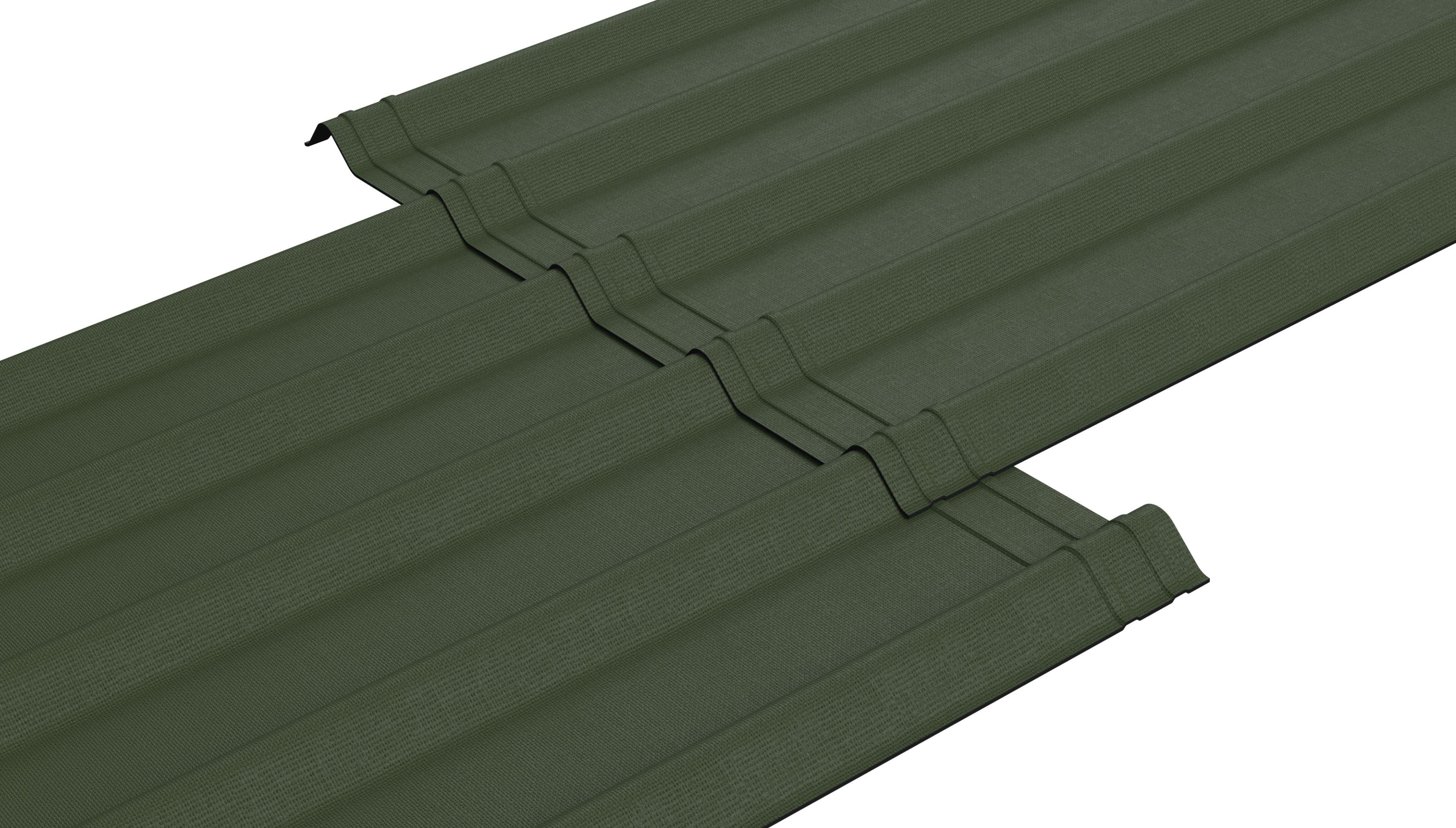 Ondura Edge Corrugated Asphalt Roofing For The Look Of Metal