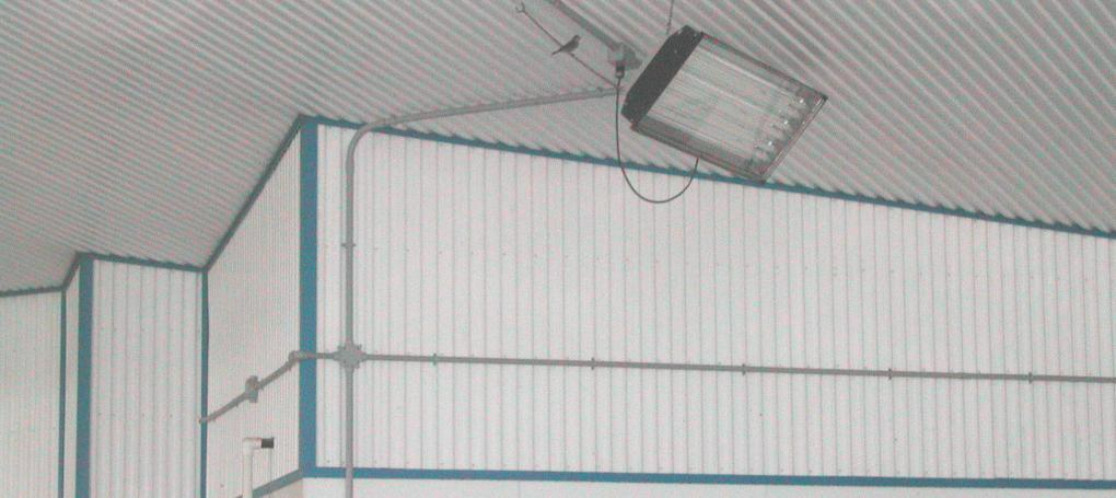 PVC for Agricultural ceilings & cladding