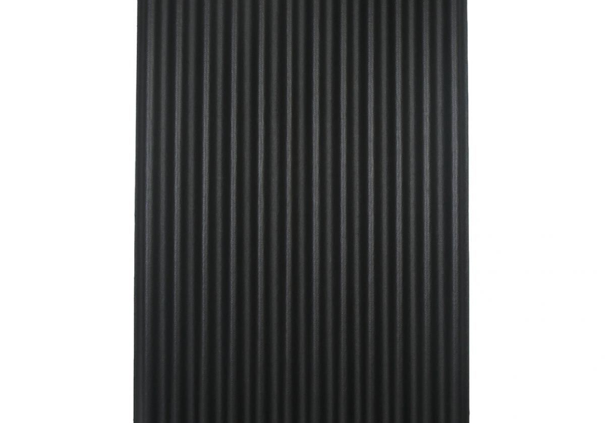 Ondura-12 corrugated roofing panel in Black