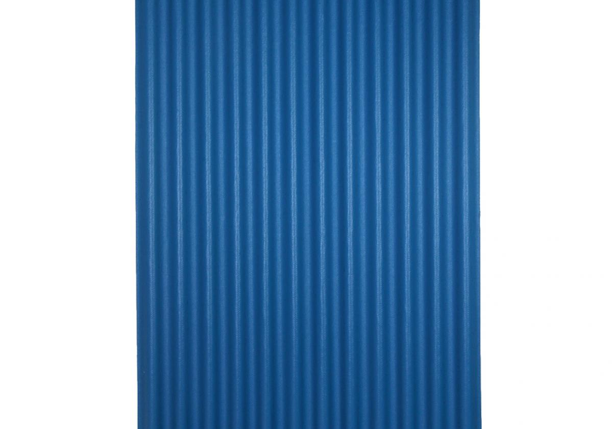 Ondura-12 corrugated roofing panel in Blue