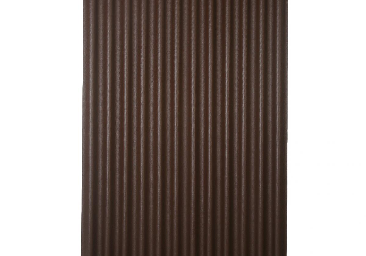 Ondura-12 corrugated roofing panel in Brown