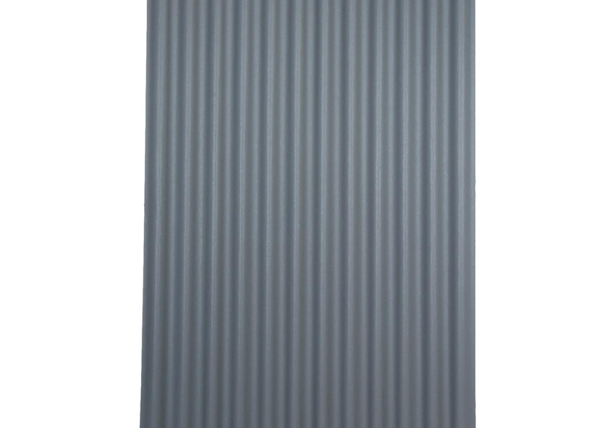 Ondura-12 corrugated roofing panel in Grey