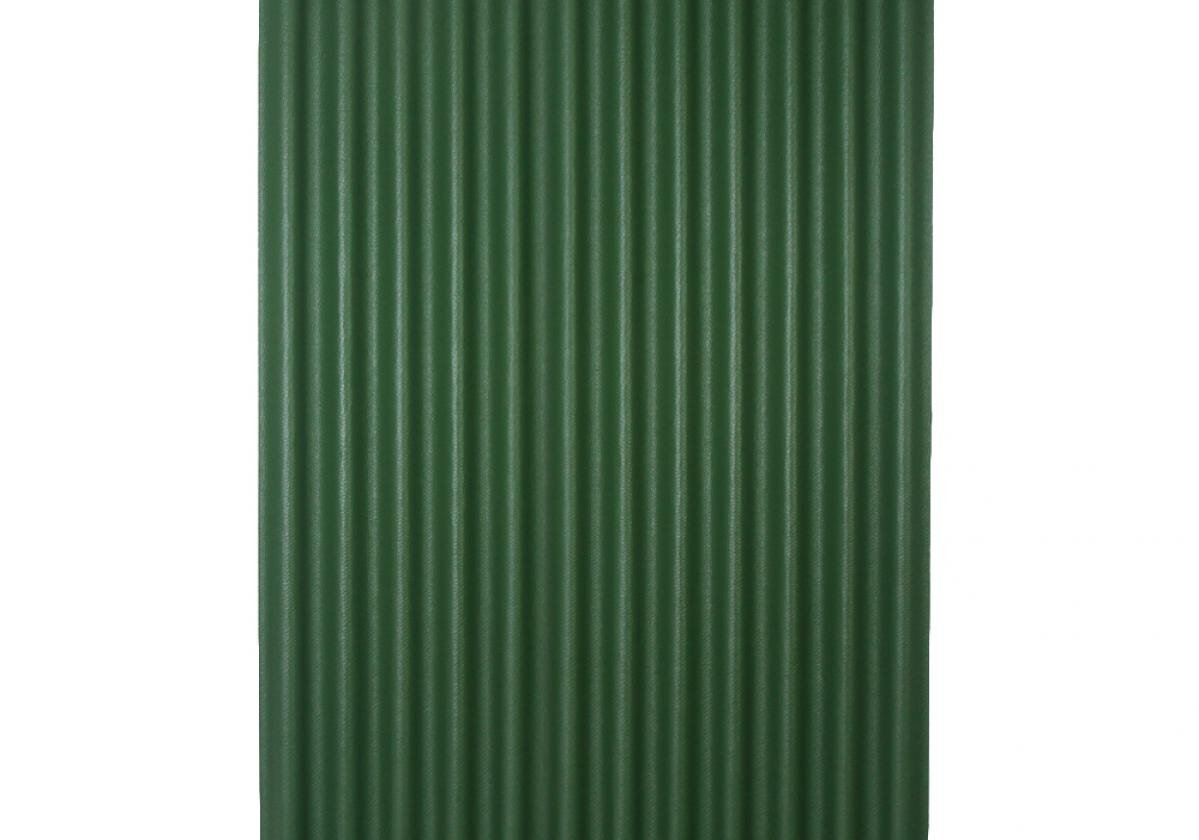 Ondura-12 corrugated roofing panel in Green