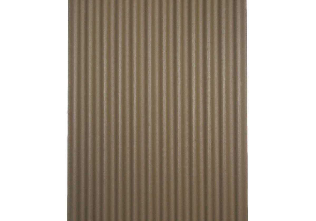 Ondura-12 corrugated roofing panel in Tan