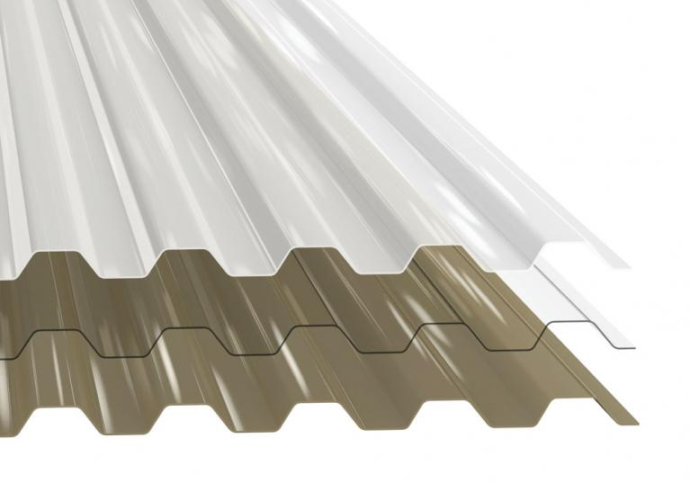 Tuftex Corrugated Polycarbonate
